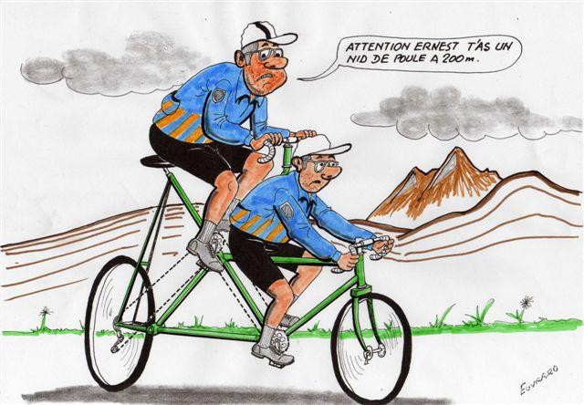 Dessin humour cycliste - Dessin cycliste humoristique ...